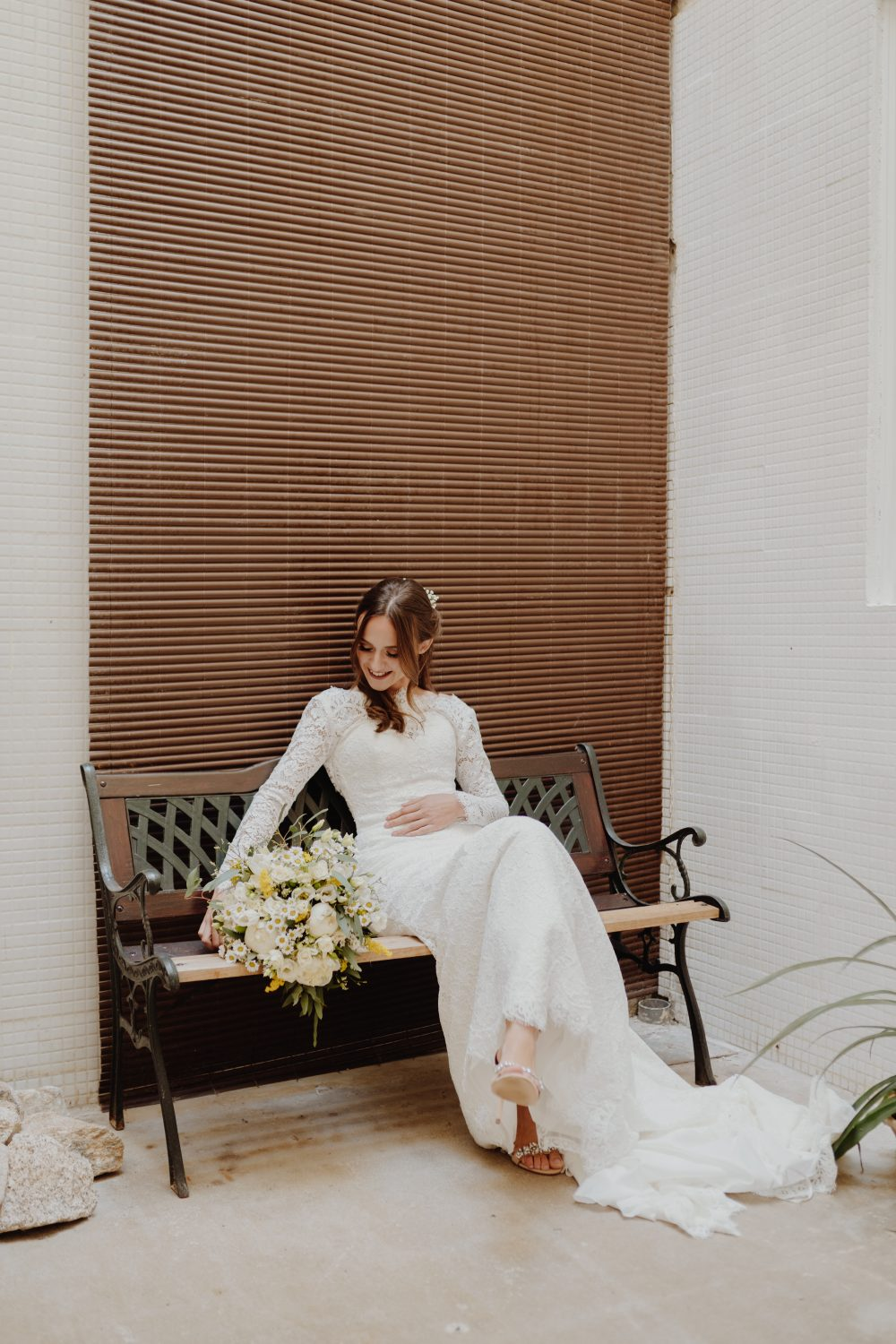 Getting married at home is a beautiful way to personalise your wedding day. Andreia & Rui chose their home as their wedding venue two months prior to the wedding and it was one of the best decisions they made!
